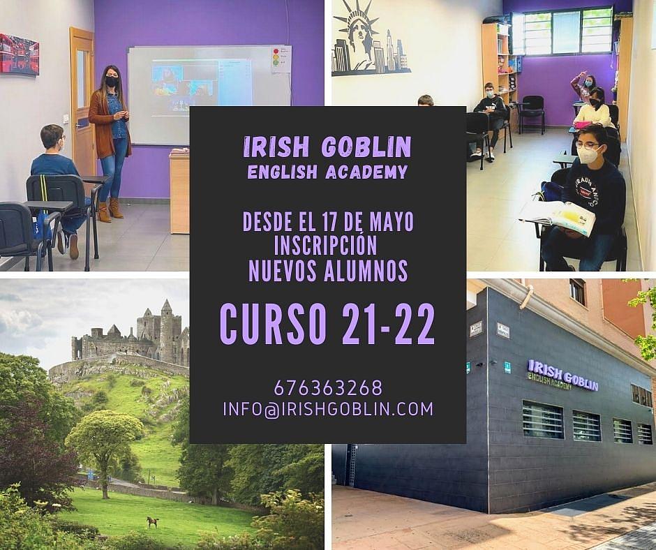 Academia de inglés Mérida - Matrícula curso 21-22